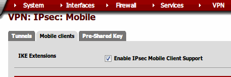 VPN- IPsec- Mobile