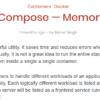 [自分用メモ][docker][container] docker composeでメモリ制限を行う方法